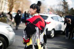 El abrigo de Céline de Susie Bubble nos recuerda que, en París, el arte está en cualquier sitio, en cualquier rincón PFW 03/2014