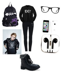 """day out with Michael Clifford"" by kljones-payne ❤ liked on Polyvore featuring Muse, Apple, PhunkeeTree and Aéropostale"