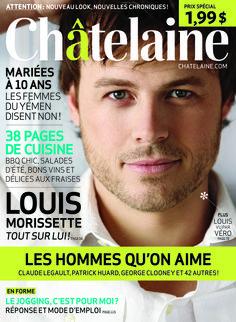 Numéro de juin 2010 #LouisMorissette #Hommes