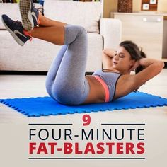 9 Four-Minute Fat Blasters