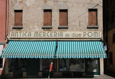 Old shop in Treviso - Italy