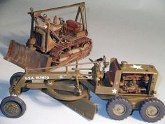 Wow, you don't see construction equipment models to often. In any scale.