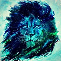 Cosmic lion prints/tshirts/phone cases and laptop skins now up on my page hell of a tedious job cropping and modifying the piece to fit everything . Art And Illustration, Illustration Inspiration, Lion Wallpaper, Animal Wallpaper, Lion Print, Lion Of Judah, Lion Tattoo, Canvas Prints, Art Prints