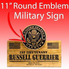 US ARMY Emblem SIGN - Military sign Home Bar Signs, Pub Signs, Us Army Reserve, Military Signs, Home Pub, Custom Wooden Signs, Reserved Signs, Church Signs, Us Marine Corps