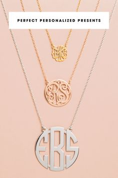 Want to give an unforgettable gift that's also thoughtful and personal? Our trendy, personalized necklaces are perfect. Customize now!