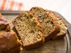 A zucchini bread that's just a little less sweet and greasy than standard versions.