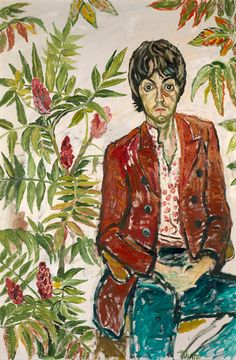 John Bratby: He was a sex-obsessed alcoholic bully who painted psychedelic portraits of the Sixties' biggest stars – and gave the Queen a black eye Paul Mccartney, John Bratby, English Artists, British Artists, Beatles Art, Art For Art Sake, Portraits, Art Boards, Art Inspo