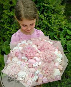 Candy Bouquet Diy, Food Bouquet, Gift Bouquet, Vegetable Bouquet, Edible Bouquets, Flower Box Gift, Sweet Trees, Edible Crafts, Ramadan Decorations