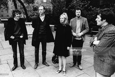 Photo of PENTANGLE; Bert Jansch, Danny Thompson, Jacqui McShee, John Renbourn, Terry Cox
