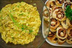 Rapunzel in the kitchen: Eiersalat - ohne Ei - mit Liebe