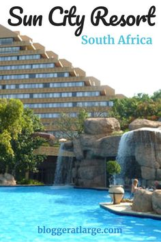 See the Big 5 from Sun City South Africa Sun City Resort has it all; stay there on your next African adventure. New Travel, Travel Deals, Luxury Travel, Travel Guide, Places To Travel, Travel Destinations, Places To Go, Sun City South Africa, Sun City Resort