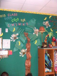 Cute classroom management bulletin board.