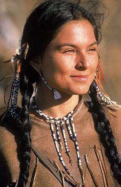 Beautiful Native American Woman!