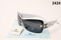New Discount Chanel Sunglasses - black white $27.00
