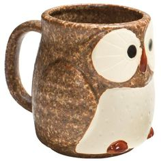 "Whoo can resist? Customer response to our best-selling owl tea set has been so overwhelming, we have added individual mugs to the collection. This textured stoneware mug is playful and exceptionally well crafted.DetailsMaterialStonewareCapacity10 ozDimensions2.75"" W x 4"" HCare InstructionsHand wash recommended. Microwave safe.Country of OriginJapan"