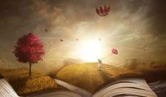 HD wallpaper: pink trees under blue sky digital wallpaper, book, landscape Cartoon Star Wars, Sky Digital, Pink Trees, Red Tree, Brand Story, Love You More, Fiction Books, Adhd, Short Stories