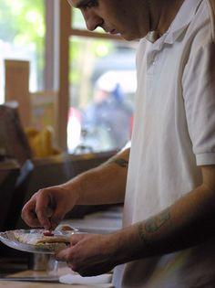 Portrait: Crepe Maker #food
