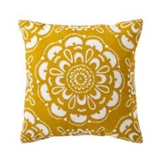 Target Home™ Medallion Decorative Pillow - Gold/Shell