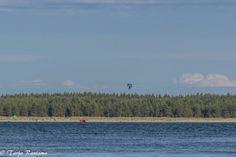 Hang-gliding by Yyteri beach