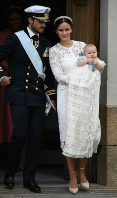 The baptised of Prince Alexander of Sweden