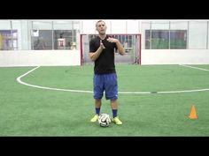 This video shows 3 beginner drills that youth soccer players should be practicing.