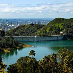 Lake Hollywood Reservoir   Travel + Leisure