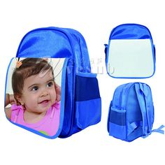 de613fe7b865 2013 Newest Sublimation Blank Kids School Bag  6.0~ 8.5 Sublimation Blanks