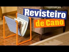 DIY - REVISTEIRO DE CANO - YouTube