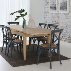 Create the space you love with our BARISTA dining table and Cristo chair #diningroom #homeinspiration #interiordesign