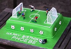 Fussball-Torte Vielen Dank für diese tolle Idee für unsere nächste Fussball-Party! Dein balloonas.com #kindergeburtstag #motto #mottoparty #party #kids #birthday #soccer