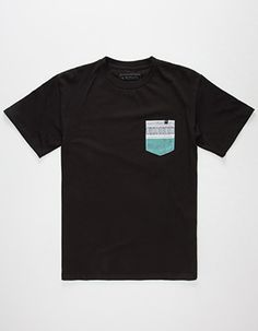 RIP CURL Rapture Boys Pocket Tee       Black