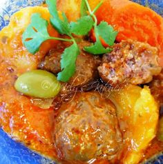 Welcome to Mely's  kitchen...the place of glorious and healthy  foods: Kalderetang Bola-bola