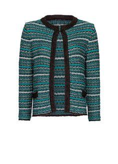 MANGO - Bouclé knit cardigan