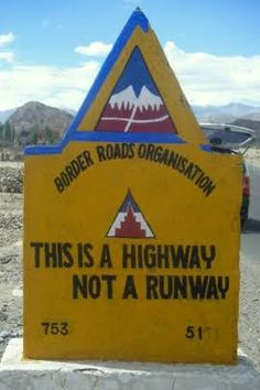Driving on Indian roads is a hilarious experience when you notice these funny road signs. Meant to alert drivers, these humorous road signs guarantees to tickle You Funny, Hilarious, Indian Road, Funny Road Signs, Times Of India, Sign Boards, Queens, English, Humor