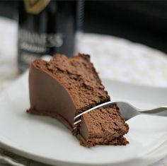 Recipe: Guinness Chocolate Cheesecake from @Joanne Bruno