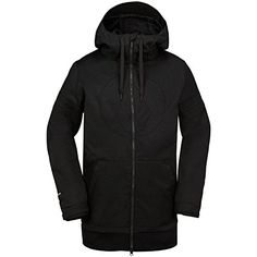 Volcom Mens Hal Jacket Black Medium ** Want additional info? Click on the image. (Amazon affiliate link)