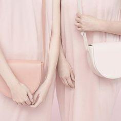 No.50 C #slava #halfmoonbag #crossbodybag #bags #leather #minimal #fashion #pink #instamood #style #fashionphotography #product #design #minimalism