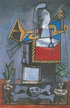 My new favorite picasso. Picasso, Pablo (Pablo Ruiz Picasso): Monument aux espagnols morts pour la France (Monument to the Spaniards Who Died for France) Pablo Picasso, Kunst Picasso, Art Picasso, Picasso Paintings, Cubist Movement, Georges Braque, Spanish Painters, Art Moderne, Henri Matisse