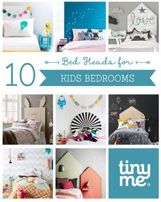 10 Bed Heads for Kids Bedrooms ~ Tinyme
