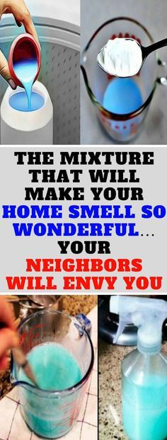 THE MIXTURE THAT WILL MAKE YOUR HOME SMELL SO WONDERFUL� YOUR NEIGHBORS WILL ENVY YOU!!!