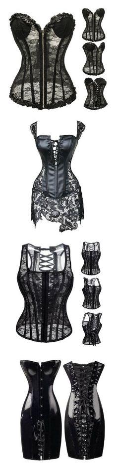 Shop our best selling goth dresses and corsets at RebelsMarket! Gothic Corset, Sexy Corset, Stilettos, Saint Chapelle, Corset Costumes, Goth Dress, Dark Beauty, Bra Lingerie, Alternative Fashion