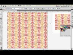 ▶ How to Create a Fabric Swatch & Manipulate the Scale & Directionality Using Illustrator - YouTube