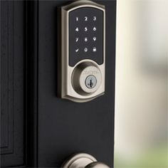 Kwikset SmartCode 916 Z-Wave Touchscreen Deadbolt with Home Connect