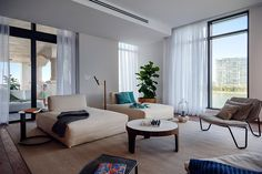 palazzo del sol reveals luxury residences on fisher island Living Room Modern, Living Rooms, Condos For Sale, Model Homes, Estate Homes, Palazzo, Floor Chair, Home Interior Design, Contemporary Design