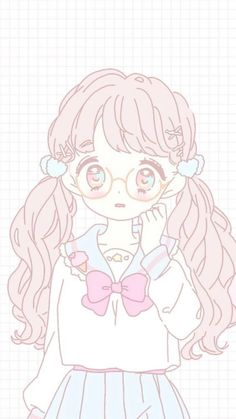 Marvelous Learn To Draw Manga Ideas. Exquisite Learn To Draw Manga Ideas. Dibujos Anime Chibi, Chibi Anime, Anime Art, Kawaii Anime Girl, Loli Kawaii, Wallpapers Kawaii, Kawaii Wallpaper, Emoji Wallpaper, Phone Wallpapers