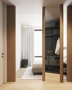 bedroom Minimalism, City, House, Furniture, Home Decor, Bedrooms, Sofa, Doors, Houses