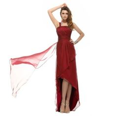 Sunvary Woman Simple Design One Shoulder Neckline A-line Front Short and Long Back Chiffon Cocktail Party Dresses - US Size 2-Red Sunvary,http://www.amazon.com/dp/B00BMHDBPQ/ref=cm_sw_r_pi_dp_v0yErb13Q5R31TY0