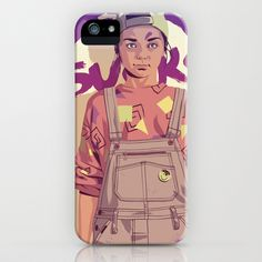 GAME OF THRONES 80/90s ERA CHARACTERS - Arya iPhone & iPod Case