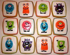 Monster Birthday Cookies