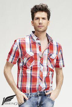 Camisa cuadros hombre